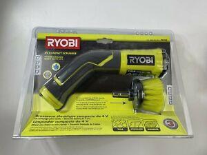 RYOBI 4-Volt Cordless Compact Scrubber Brush  P4400