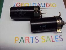 Kenwood KR 6600 6060 Filter Capacitors 56V 6800UF. Tested. Parting Out KR 6600
