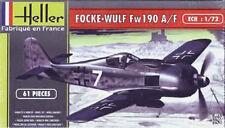 Maqueta del Caza alemán Focke Wulf Fw 190A/F de HELLER a escala 1/72