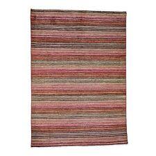 "5'8""x7'10"" Pure Wool Peshawar Gabbeh Hand Knotted Oriental Rug G45055"