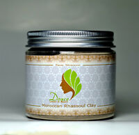 Natural Moroccan Rhassoul clay Powder facial cleanser (Anti-Aging)