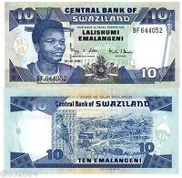 SWAZILAND Billet 10 EMALANGENI 2006 PNL NEW UNC NEUF