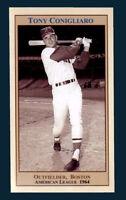 Tony Conigliaro, '64 Boston Red Sox, rookie season near mint rare card