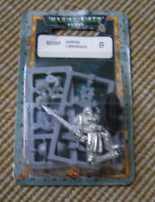 40k Rare oop Vintage Metal Space Marine Librarian w/ Bare Head Force Sword NIB 3