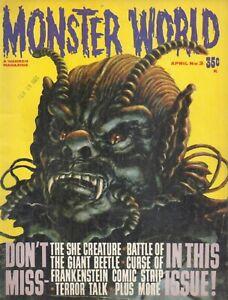Monster World APRIL1965 s3-She Creature-Artist Robb Cobb