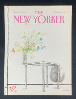 COVER ONLY ~ The New Yorker Magazine, June 5, 1989 ~ Ronald Searle