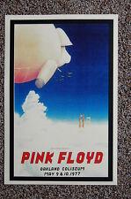 Pink Floyd Concert Tour Poster 1977 Oakland Coliseum--