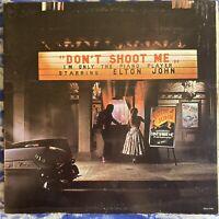 Elton John – Don't Shoot Me I'm Only The Piano Player 1972 Vinyl LP EX Condition