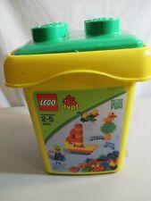 LEGO Explore Brick Bucket Large (4085)+ Extra Duplo Parts