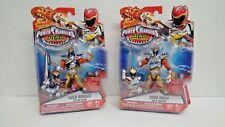Power Rangers Dino Supercharge - Gold Ranger and Dino Drive Gold Ranger (NIB)