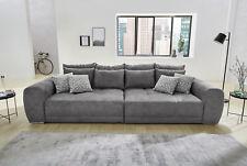 Big Sofa Sam Stoff Grau Mega Sofa Lounge Riesensofa XXL Sofa Mit Kissen