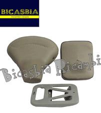 8257 - SELLA + PIASTRA E CUSCINO GRIGIO VESPA 150 VBA1T VBA2T VBB1T VBB2T