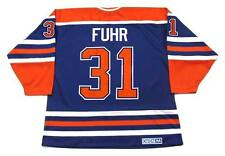 GRANT FUHR Edmonton Oilers 1987 CCM Vintage Throwback Away NHL Hockey Jersey 70c14a783