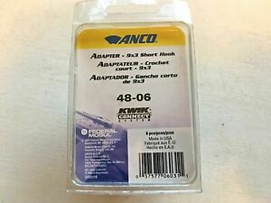 Lot of 6 - Anco 48-06 Windshield Wiper Blade Adapter - Free Shipping - M29