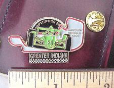 Greater Indiana Inaugural Formula 1 Auto Racing Race Car September 2000 Pin