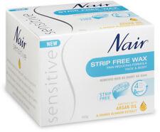 Nair Sensitive Face & Body Strip Free Wax Kit 400g