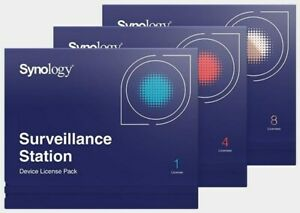 Synology Kameralizenz Paket 4 Lizenzpaket für 4 IP-Kameras