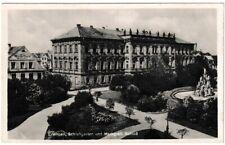 Ansichtskarte Erlangen - Schlossgarten und Markgräfliches Schloss - schwarz/weiß
