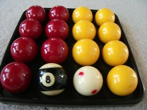 Super aramith pro cup 8 ball tournament pool balls in excellent condition