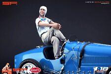 1:18 Helle Nice VERY RARE!!! figurine NO CARS !! Bugatti Queen T35