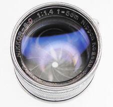Nikkor 5cm f1.4 Leica SM  #329900