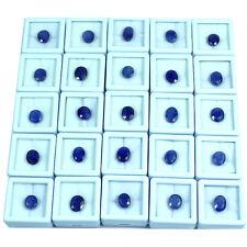 25 Pieces Natural Ceylon Blue Sapphire Parcel Lot Loose Collector Pieces #