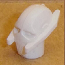 Lego General Grievous Minifig Head X 1 White Star Wars Head for Minifigure