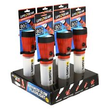 Life+Gear LED Glow Flashlight - Red, Pack of 6 (Free Shipping)