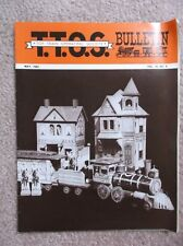 TOY TRAIN OPERATING SOCIETY T.T.O.S. BULLETIN MAY 1984 V 19 NO. 5