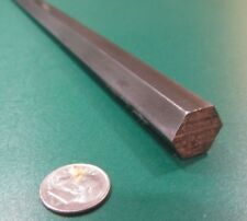 """1215 Carbon Steel Hex Rod 9/16"""" Hex x 3 Foot Length, 2 Units"""