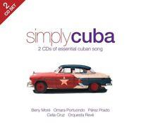 SIMPLY CUBA (CELIA CRUZ, BENY MORE,...)  2 CD NEW!