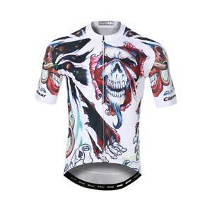 Men's Cycling Jersey Clothing Bicycle Sportswear Short Sleeve Bike Shirt J106