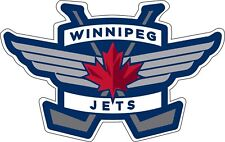 "Winnipeg Jets NHL Hockey sticker window wall decor, Large vinyl decal, 12.5""x 8"""