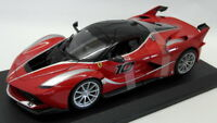 Burago 1/18 Scale Diecast 18-16010 Ferrari FXX K Supercar Red Black Model Car