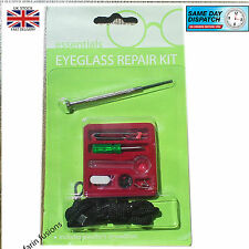 Repair Kit -Eyeglass  Sun Glasses Screw Nut Nose Pad driver cord OpticalTool Set