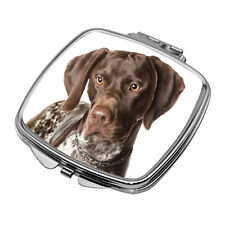 More details for pointer compact mirror / square with curved edges / new / perfect gift or treat!