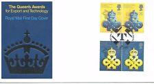 wbc. - GB - FIRST DAY COVER - FDC - COMMEMS -1990- Queen AWARD - U/A Pmk Ldn 2+2