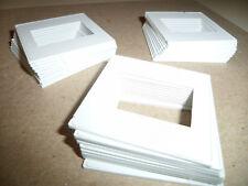Lot of (30) Pakon Plastic 35mm Slide Mounts (White) Easy To Use! (Brand New)