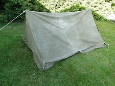 Afrika Korps carpa British made tipo 1942 Dak africacorps tent sur WH wxx WWII