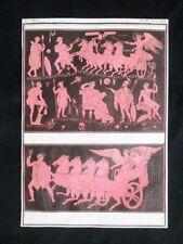 Iride, Pittura rossa Incisione colorata a mano del 1820 Mitologia Pozzoli