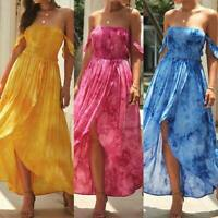 Sundress Dress Summer Womens Casual Floral Party Evening Cocktail Dresses