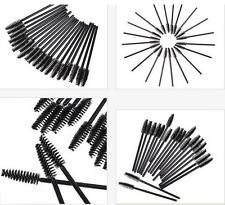 10/20/50/100/200pc Disposable Mascara Wands Eyelash Brush Applicator Extension
