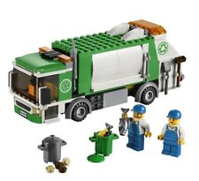 LEGO - 4432 & 60073 - Town: City - Garbage Truck & Service Truck - NO BOX