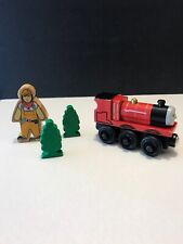 Thomas & Friends Wooden Railway JAMES And Wooden Trees Conductor Toys