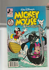 Mickey Mouse Adventures #1 F 1st Disney comic issue 1990