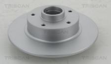 2x Bremsscheibe TRISCAN 812025173C hinten für RENAULT