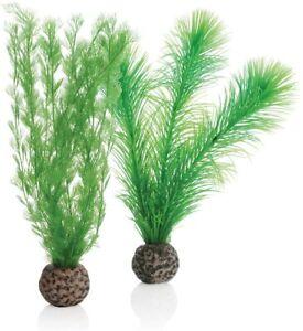 Oase Biorb Easy Plant Set Green Ferns Small weighted plastic aquarium fern