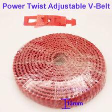 10ft120 Power Twist Drive Adjustable Link V Belt A134l12 For Cnc Motor