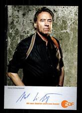 Gerd Silberbauer ZDF Autogrammkarte Original Signiert # BC 70999
