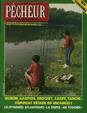 Revue le pêcheur de France No 28 Juillet-Août  1985